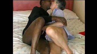 584060 granny interracial