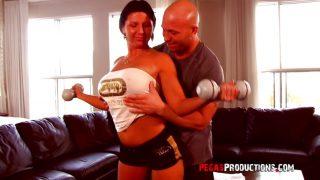 Big Titted Milf Training