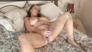 Big Titted Tamara Fox Masturbates