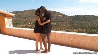 Ebony Partners Sex Outdoor