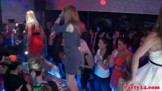 Party amateur fingered on the dancefloor