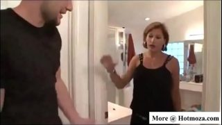 Sexy Step Mom Fucks Step Son