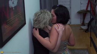 Teen and mature lesbians very hot