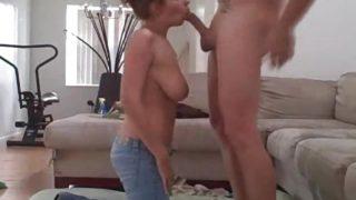 Amateur Big Tits Brunette Fucks