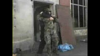 Brunette Soldier Fucked