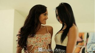Passion-HD – Two georgous brunettes are fucked …