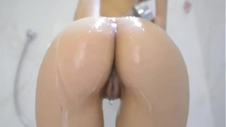 A Very Hot Shower Turns Into Riding Dildo – Twi…